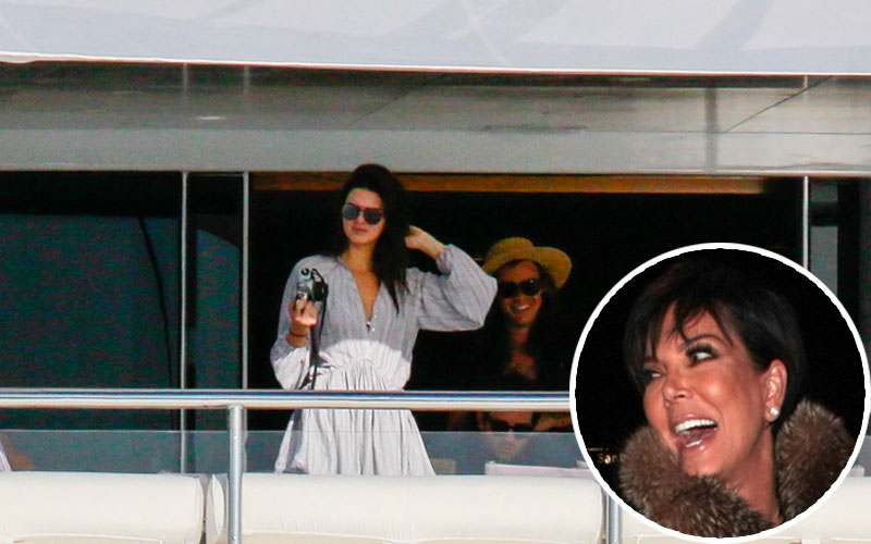 harry styles dating kendall jenner appear film kuwtk