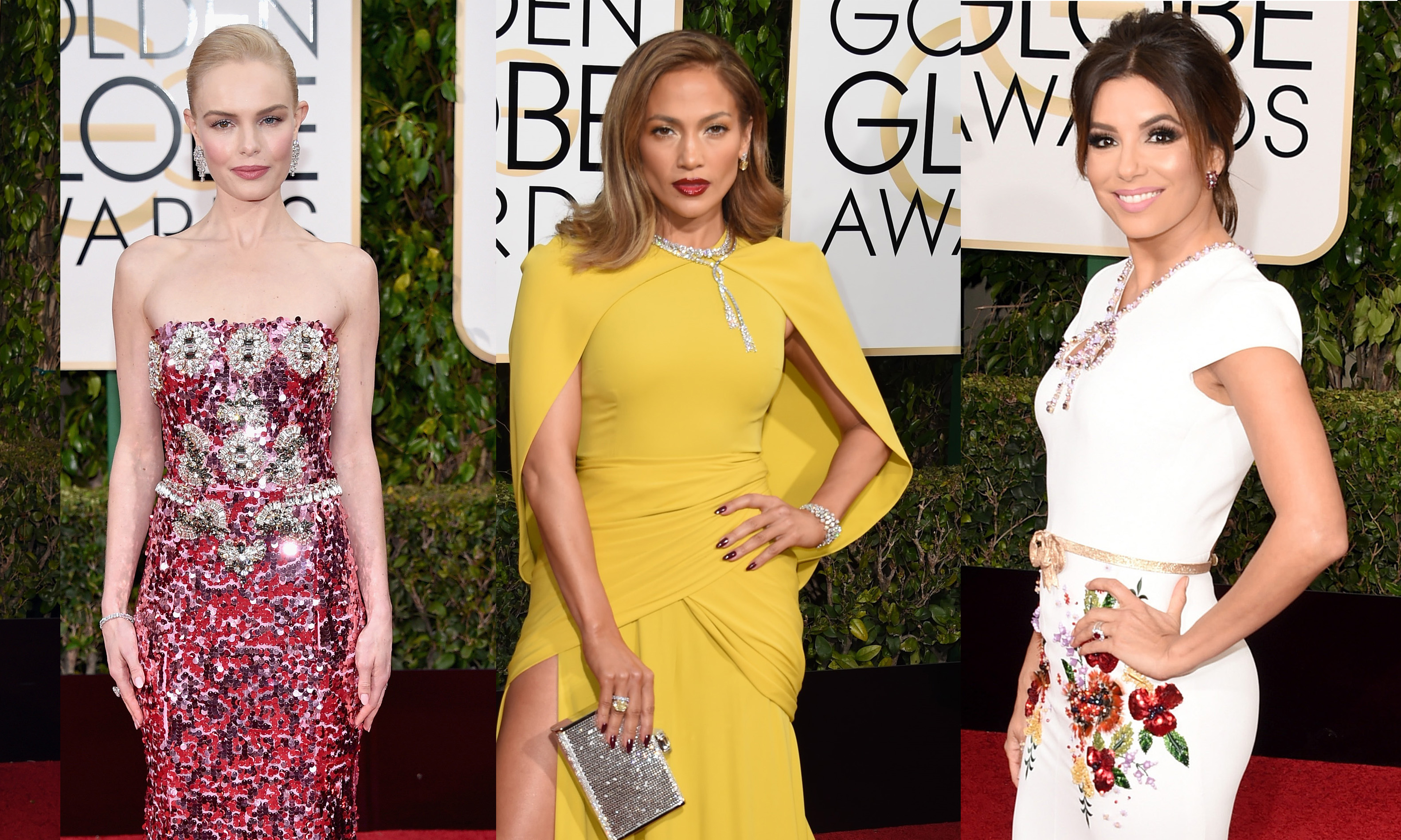 golden globes 73 annual red carpet fashion