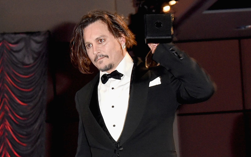 johnny depp drugs drunk palm springs festival photos