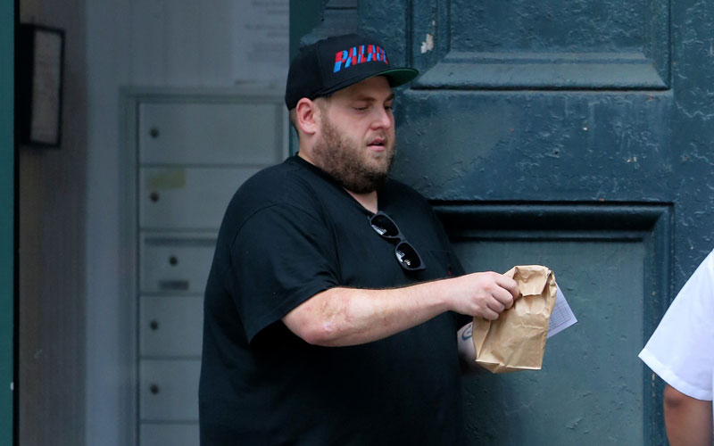 jonah hill alcohol binge booze weight gain