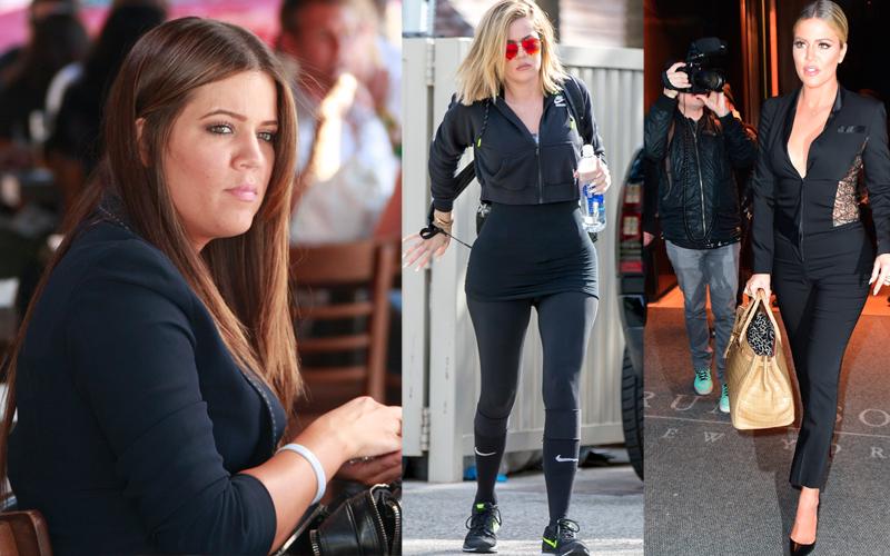 Khloe Kardashian 40 Pound Weight Loss Photos