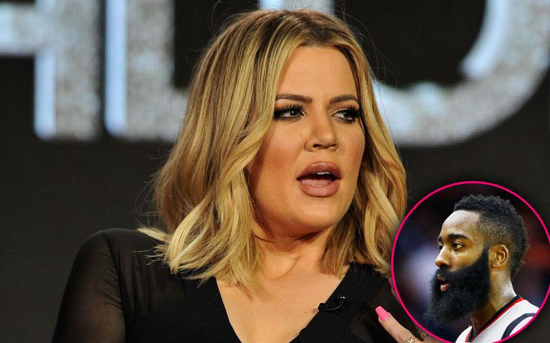 khloe kardashian james harden strip club instagram