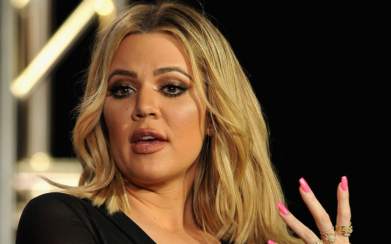 khloe kardashian plastic surgery disaster lips