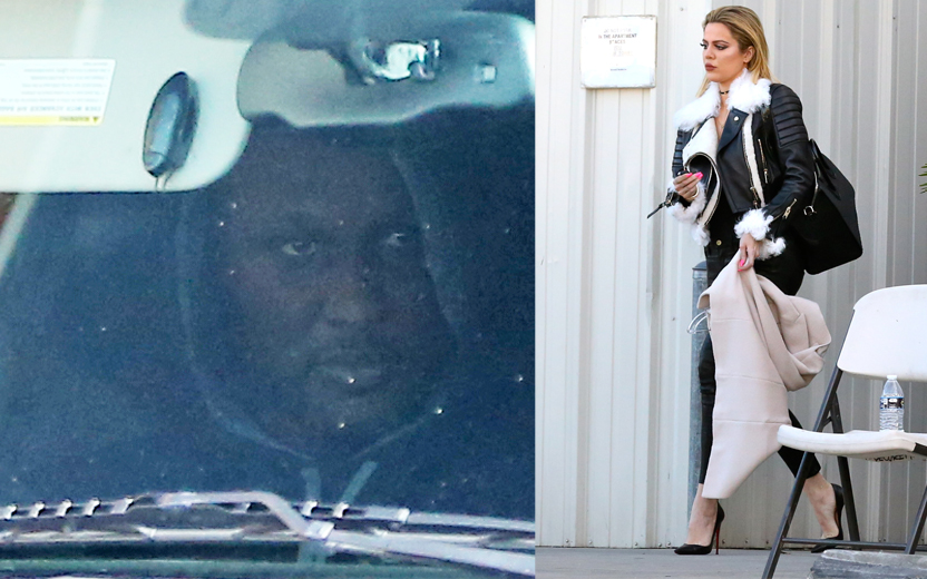 Lamar Odom Photos    Out Of Hospital & Fighting To Get Khloe Kardashian Back