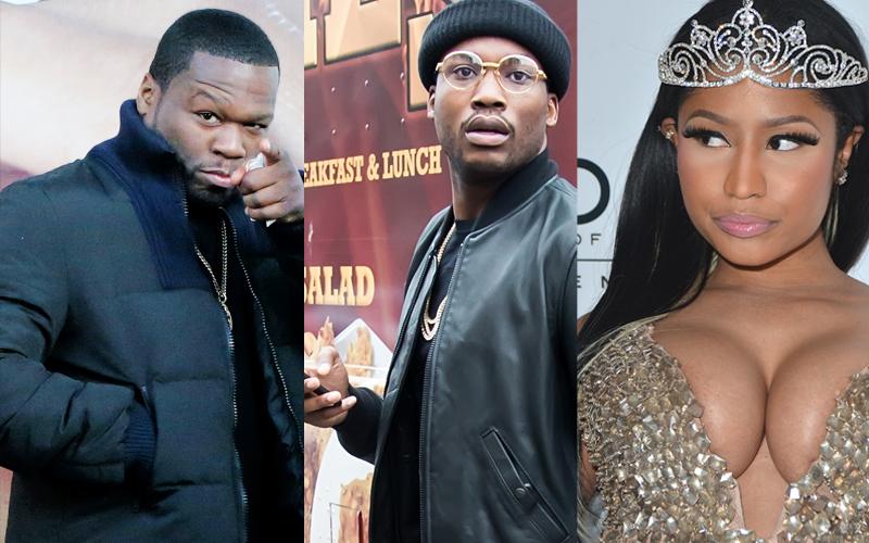 Meek Mill's Instagram Fight With 50 Cent    'Get Nicki Minaj Pregnant'