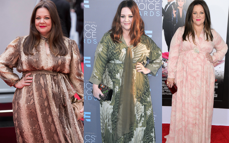 Melissa mccarthy weight loss journey photos