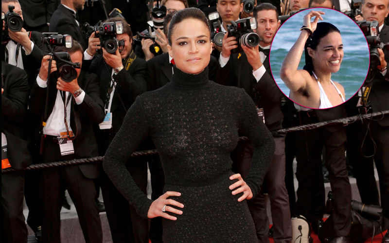 Hairy Pits! Find Out Why Michelle Rodriguez Lets It All