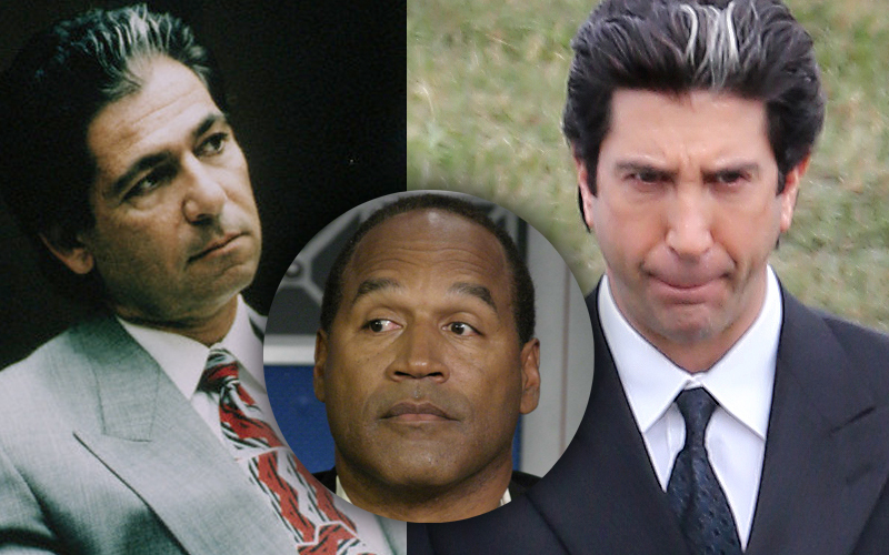 Video David Schwimmer Playing Robert Kardashian In Oj Simpson