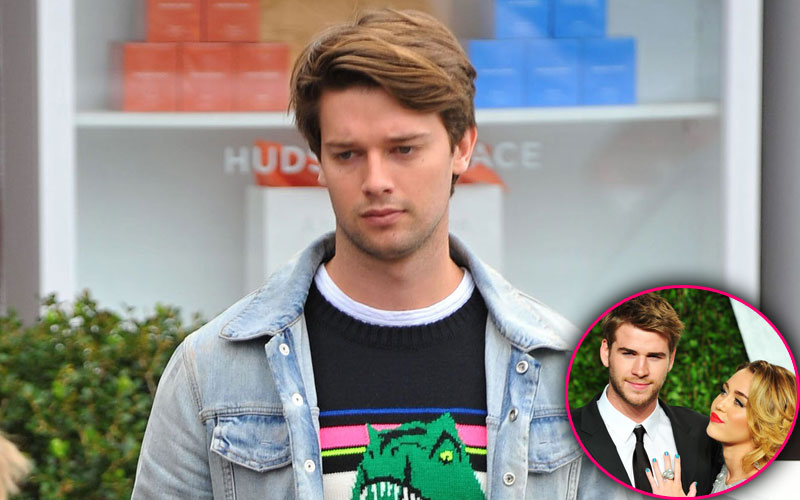 patrick schwarzenegger hurting miley cyrus liam hemsworth