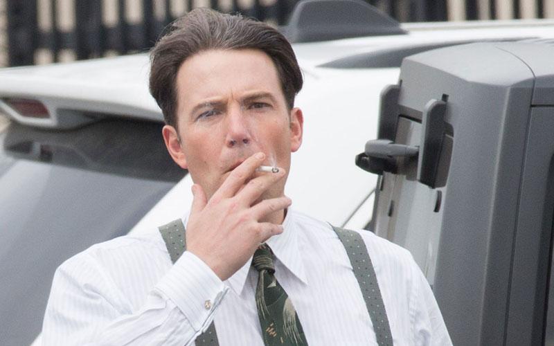 jennifer garner ben affleck divorce stress caught smoking set filming movie