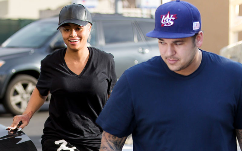 rob kardashian blac chyna dating wearing gym clothes