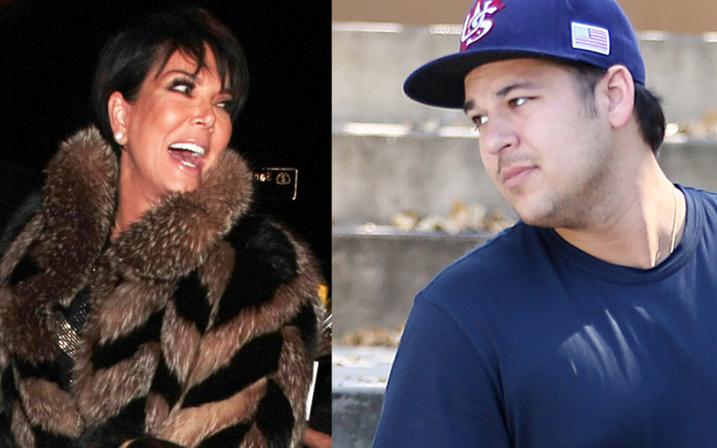 Rob Kardashian's Diabetes    Friends Beg Kris Jenner To Quit 'KUWTK' To Help Son