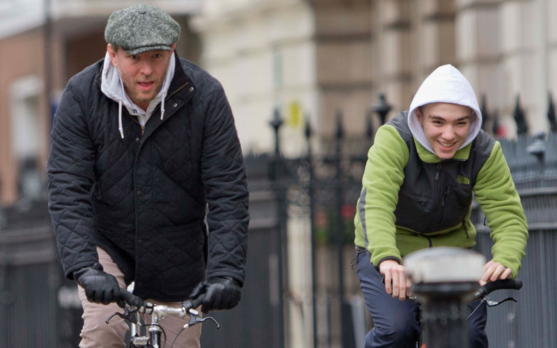 rocco ritchie guy ritchie madonna custody battle bike riding london photos