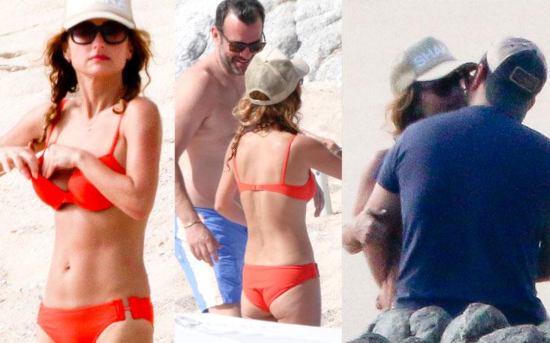 Giada De Laurentiis Bikini Boyfriend Shirtless Mexico