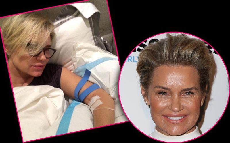 Yolanda Foster Lyme Disease Recovery Selfie