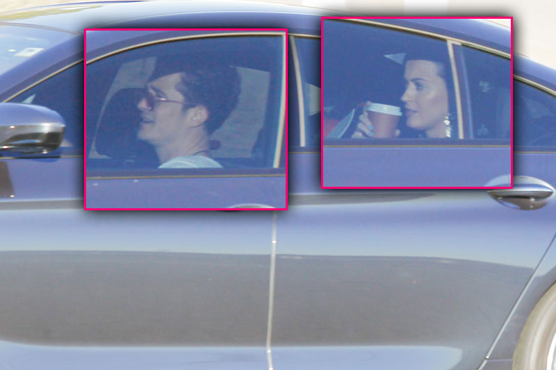 orlando bloom katy perry dating son car photos