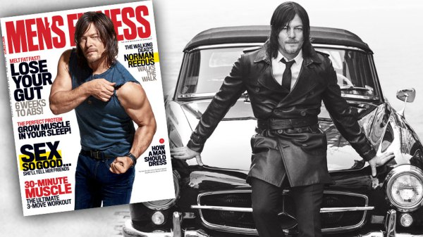 Norman Reedus mens fitness cover