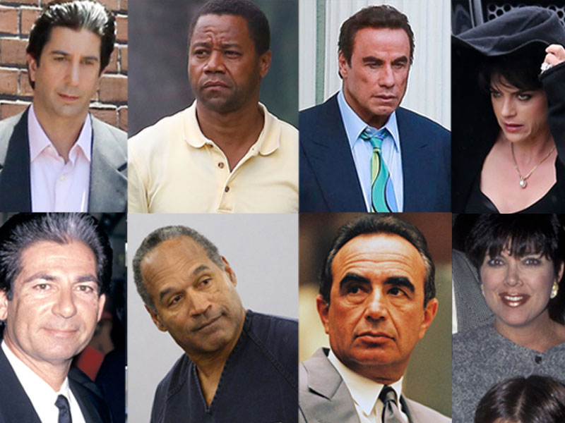 OJ Simpson American Crime Story Cast Kardashian