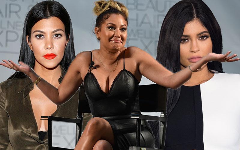 adrienne bailon kourtney kardashian kylie jenner feud rob kardashian instagram