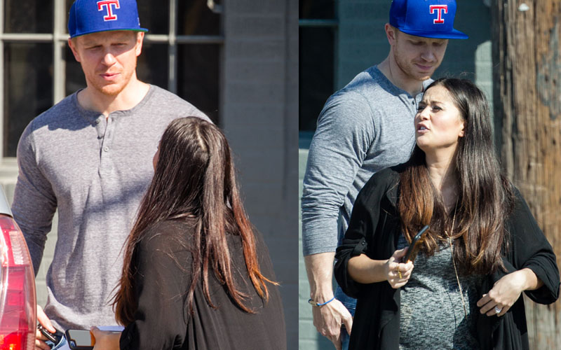 Bachelor sean lowe catherine giudici divorce rumors valentine photos pp