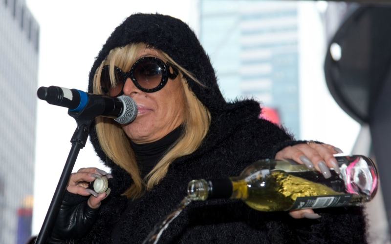 big ang dead mob wives wake open casket