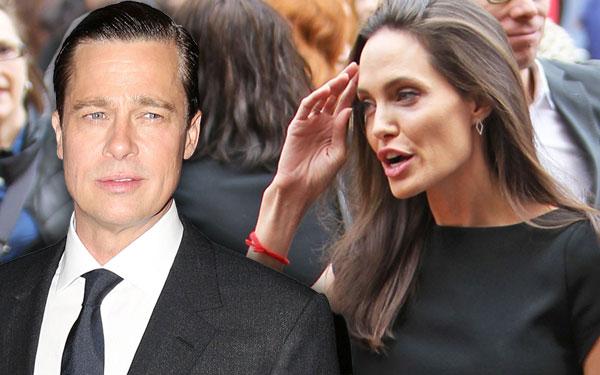 Brad Pitt Angelina Jolie Divorce Rumors Split Marriage Trouble Pics 4