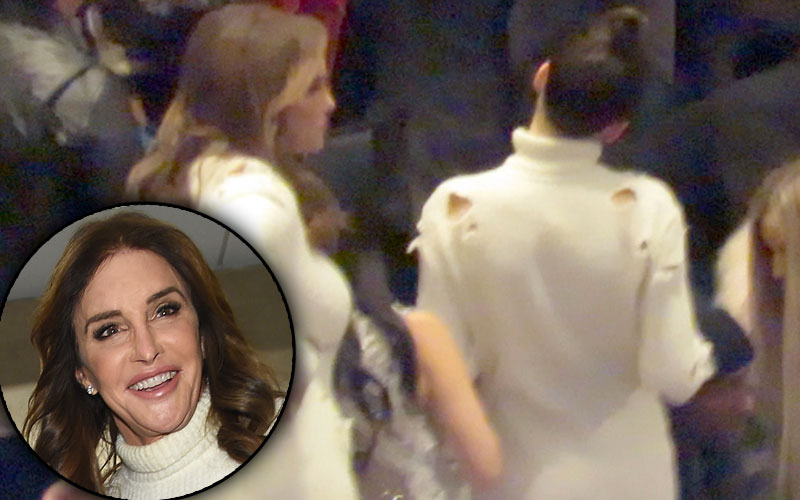 caitlyn jenner kendall jenner yeezy season 3 matching clothes pics