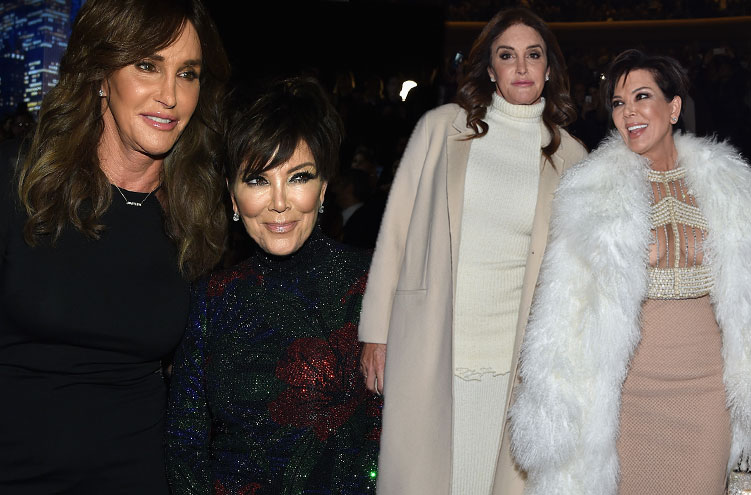 caitlyn jenner kris jenner fashion police feud style