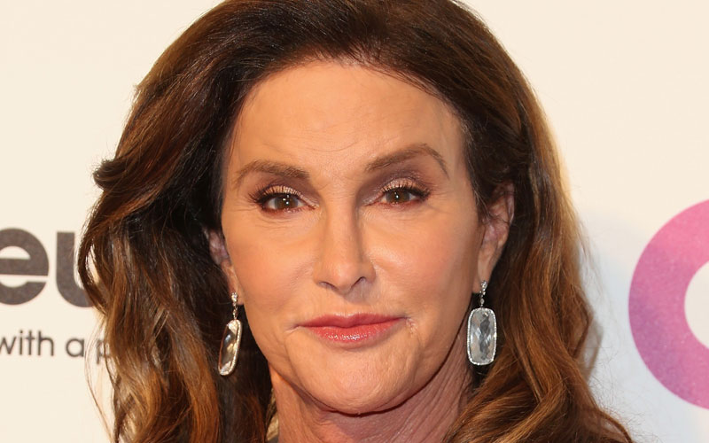 caitlyn jenner tight dress photos oscar party