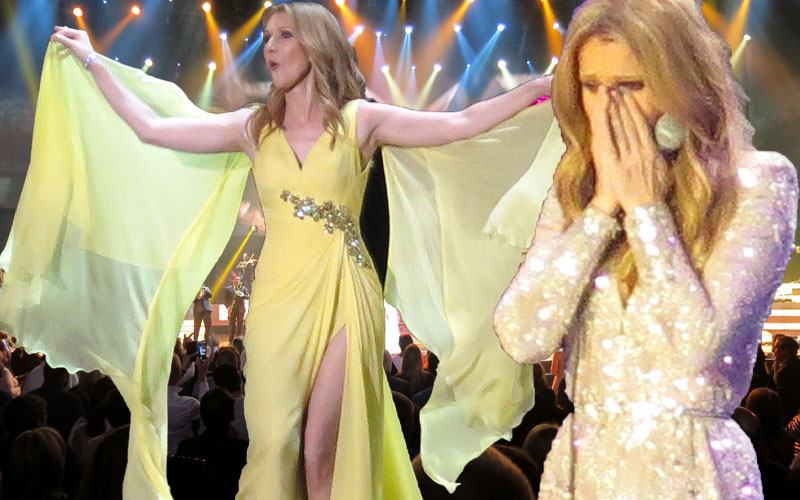 celine dion husband dead performs residency las vegas