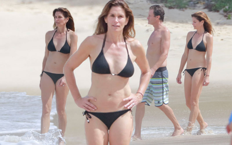 Cindy Crawford Bikini Body 50th Birthday