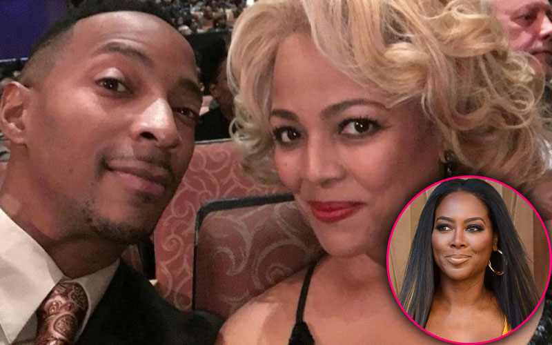 Cynthia bailey slams kenya moore calling kim fields husband gay pp