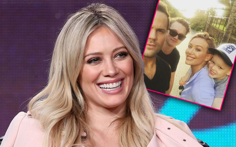 hilary duff divorce mike comrie instagram photos