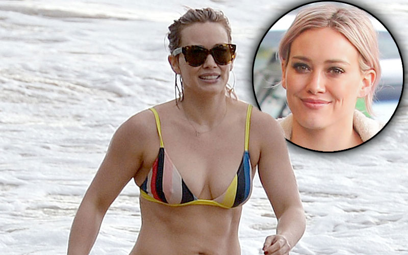 Hilary Duff Mike Comrie Divorce Hawaii Vacation Pics