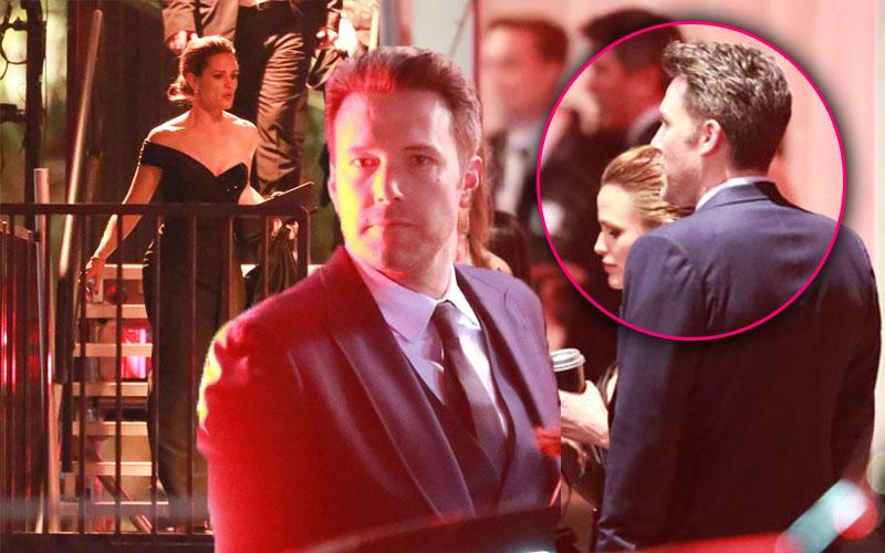 Jennifer Garner Ben Affleck Oscars Vanity Fair Party
