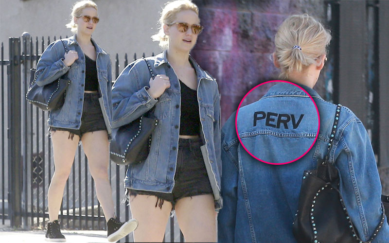 jennifer lawrence perv jacket daisy dukes photos