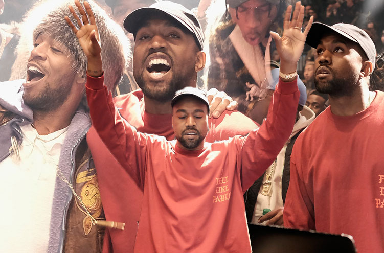 Kanye west picked up the enormous tab for yeezy season 3 show find out how many millions it for Madison square garden kanye west
