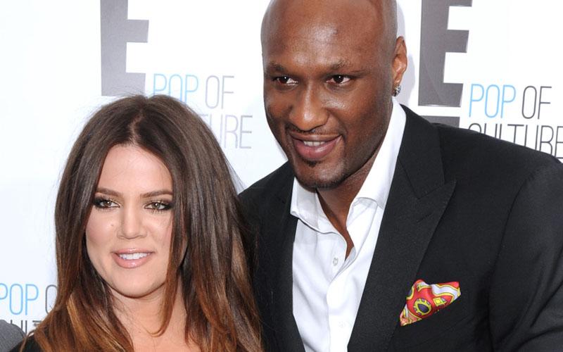 Khloe Kardashian Hikes With Lamar Odom & Kim Kardashian