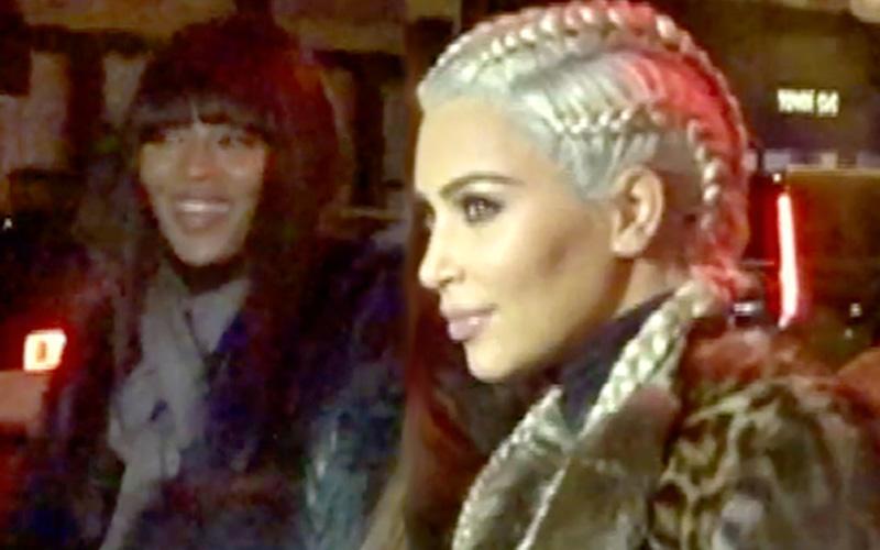 Kim kardashian divorce rumors dinner naomi campbell pp