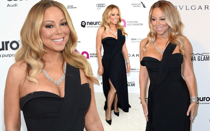 mariah carey weight loss engaged wedding red carpet oscars