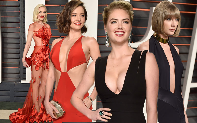 most naked red carpet moments oscars 2016 pics