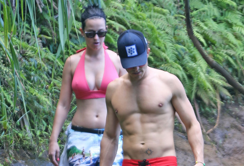 Katy perry dating orlando bloom shirtless topless bikini pics