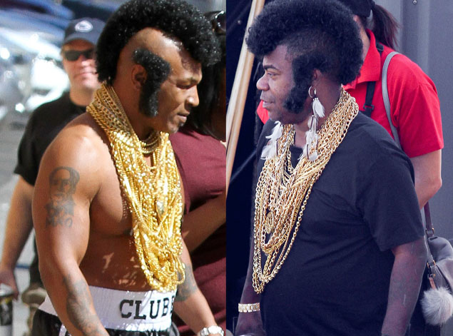 Tracy morgan mike tyson dress up mr t