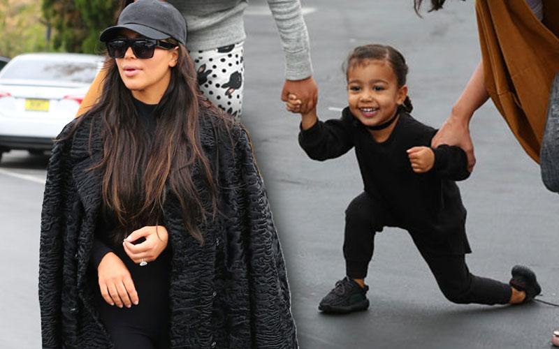 kim kardashian divorce kanye west north shopping