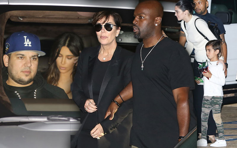 rob kardashian family celebration