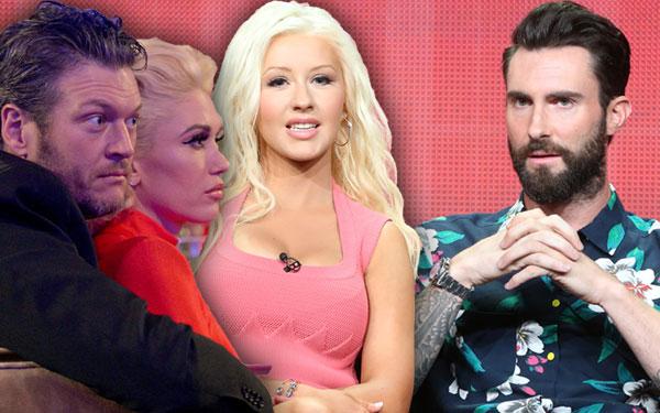 Adam Levine Wife Pregnant Quit The Voice Show PP