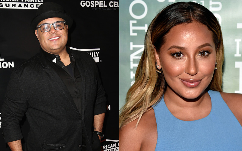 Adrienne Bailon Marries Fiancé Israel Houghton After Just 9 Months of ...