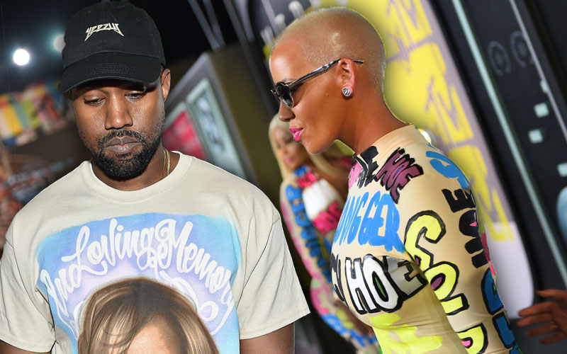 amber rose kanye west relationship feud pay off