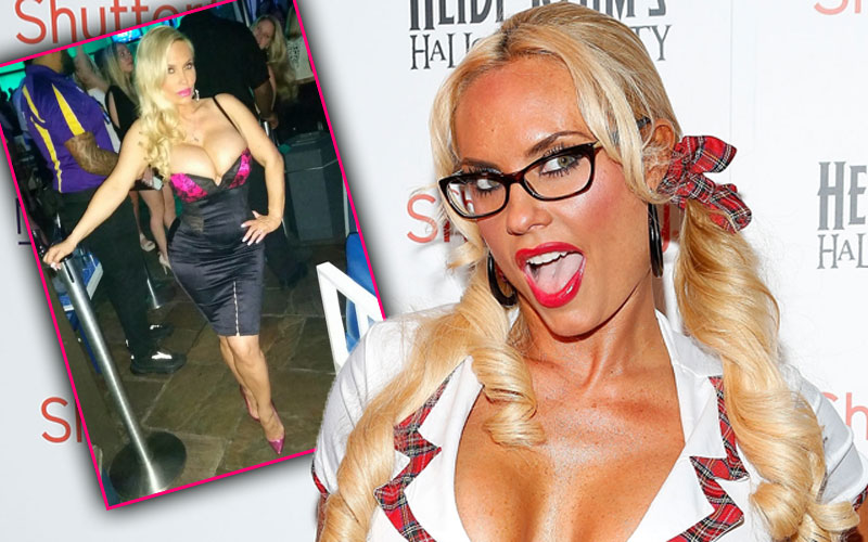 coco austin topless boob spill instagram pic