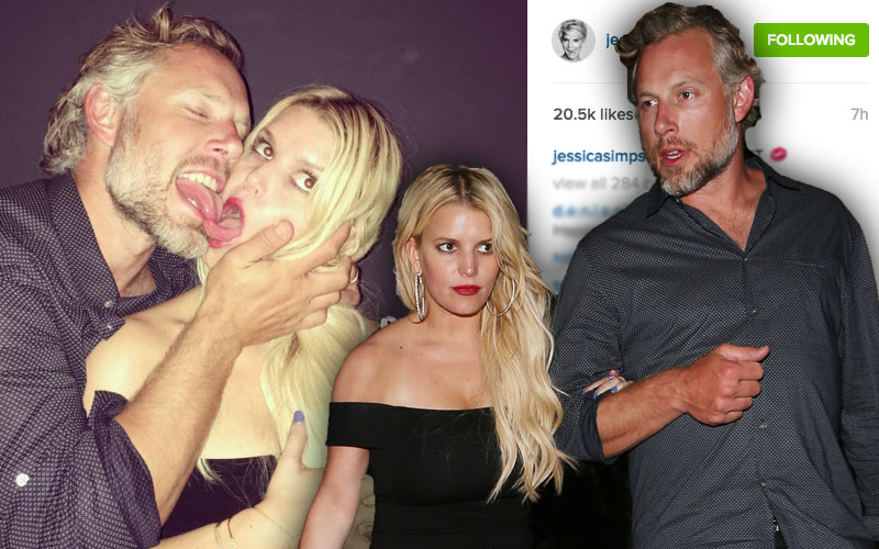 eric johnson jessica simpson pda drunk instagram